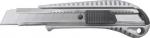 Нож технический 18 мм усиленный металлический корпус техно, FIT, 10250