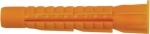 Дюбель универсальный с бортиком (U) 6 х 42 (фасовка 10 шт.), FIT, 23852-2