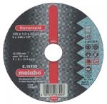 Круг отрезной Novoflex по металлу (180x22,2 мм, прямой) А 30, METABO, 616450000