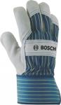 Защитные перчатки с вставками из бычьей кожи GL SL 10, BOSCH