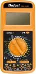 Мультитестер DMM-1000N, 1000/750 В, 20/20 А, 0-20 МОм, DEFORT, 98298123