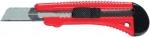 Нож, 18 мм, выдвижное лезвие, металлическая направляющая, MATRIX, 78918