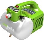 Компрессор электрический GAC6L, 300 Вт, 6 л, 40 л/мин, GREENWORKS, 4101302